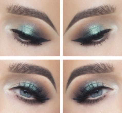 eyes glitter