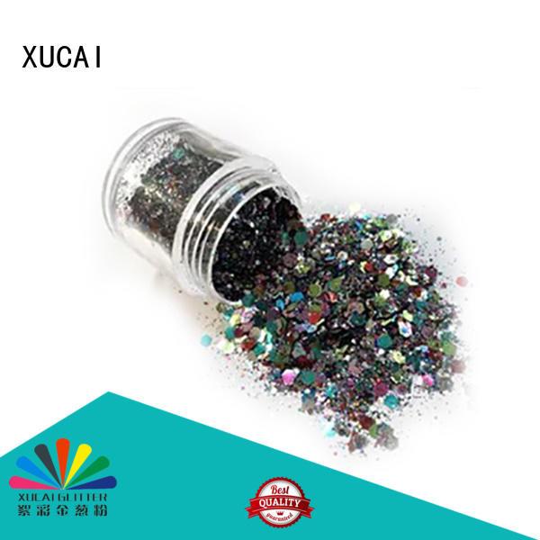 glitters ployester metallic multicolor XUCAI Brand metallic glitters supplier