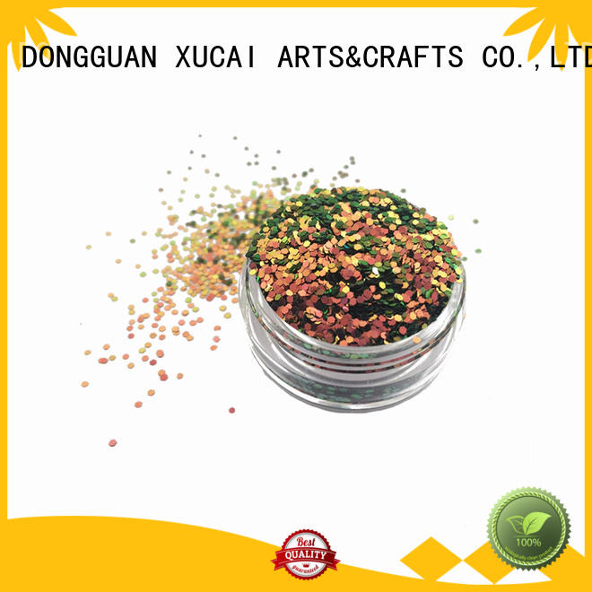 sparkle color shifting color glitter powder various size and shape for Crafts change color XL010B