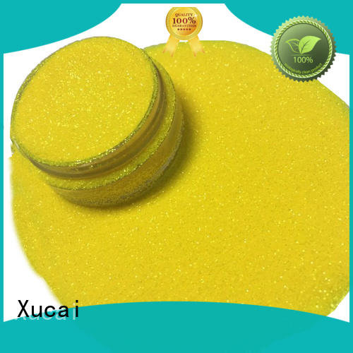 Xucai rainbow iridescent glitter products for paper printing