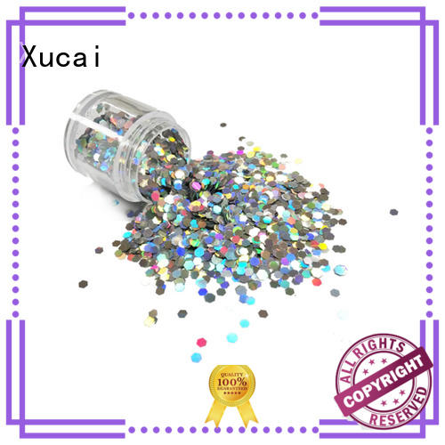 glitters manufacturer for arts Xucai