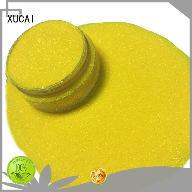 XUCAI different sizes Iridescent glitter supplier for leather