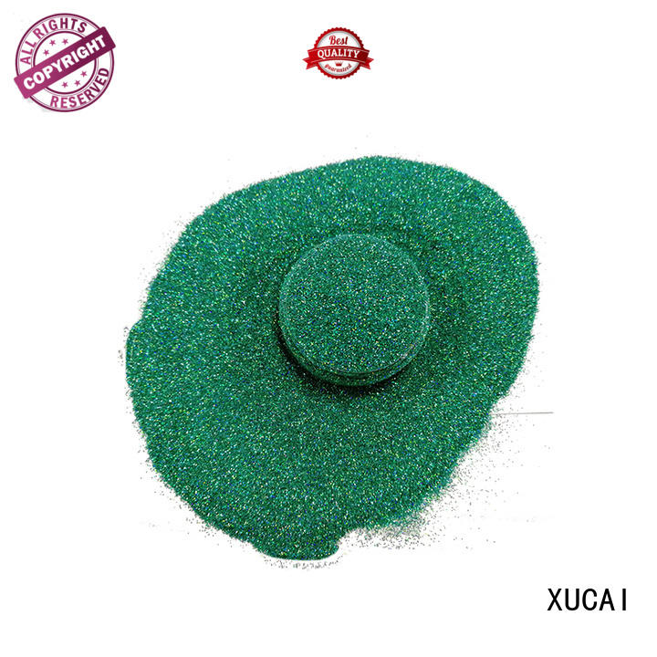 XUCAI Brand solvent star shining custom holographic nail powder
