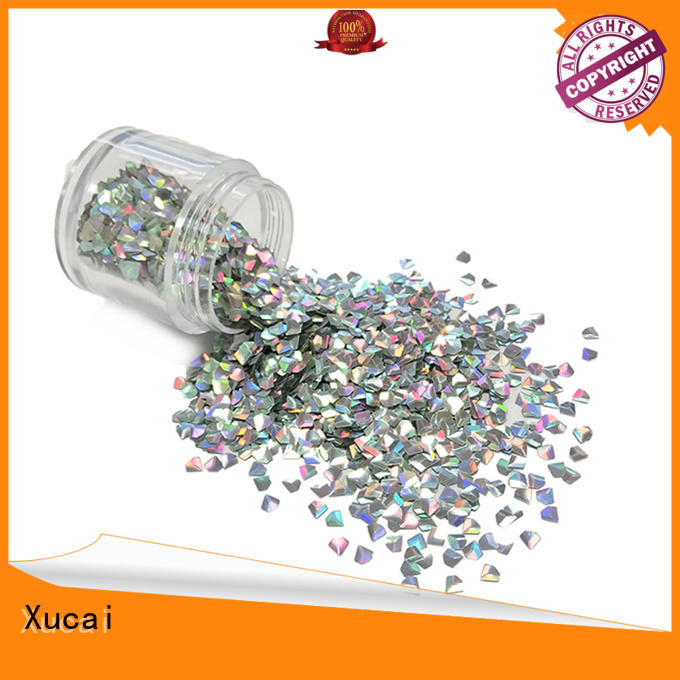Xucai biodegradable glitter factory price for printing