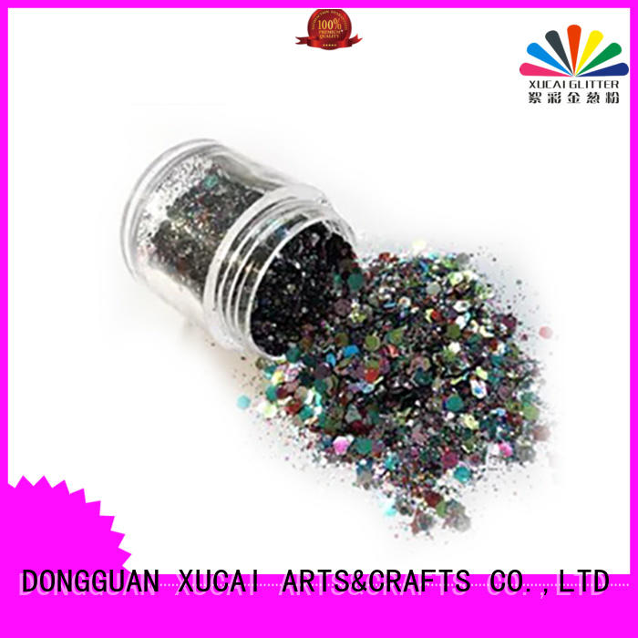 polyester metallic glitter eyeshadow with pe inner pack for makeup