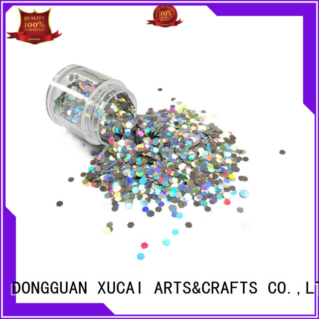 Xucai star holographic glitter powder laser rede for body