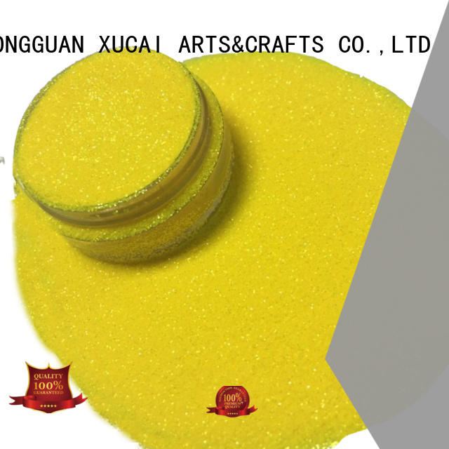 Xucai chunky glitter powder type for craft