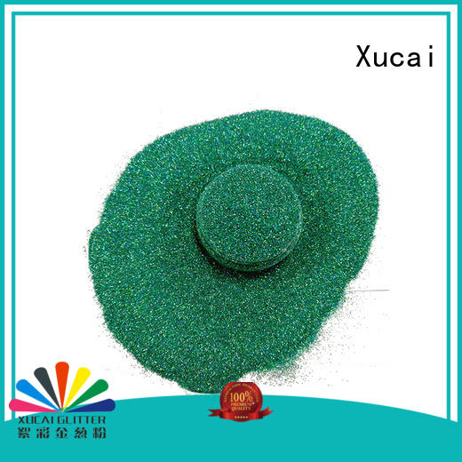 Xucai laser silver holographic glitter manufacturer for crafts
