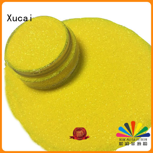 Xucai c03 iridescent face glitter manufacturer for screen printing industry