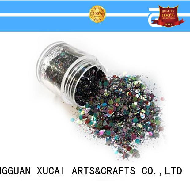 Xucai metallic glitters manufacturer for fabric