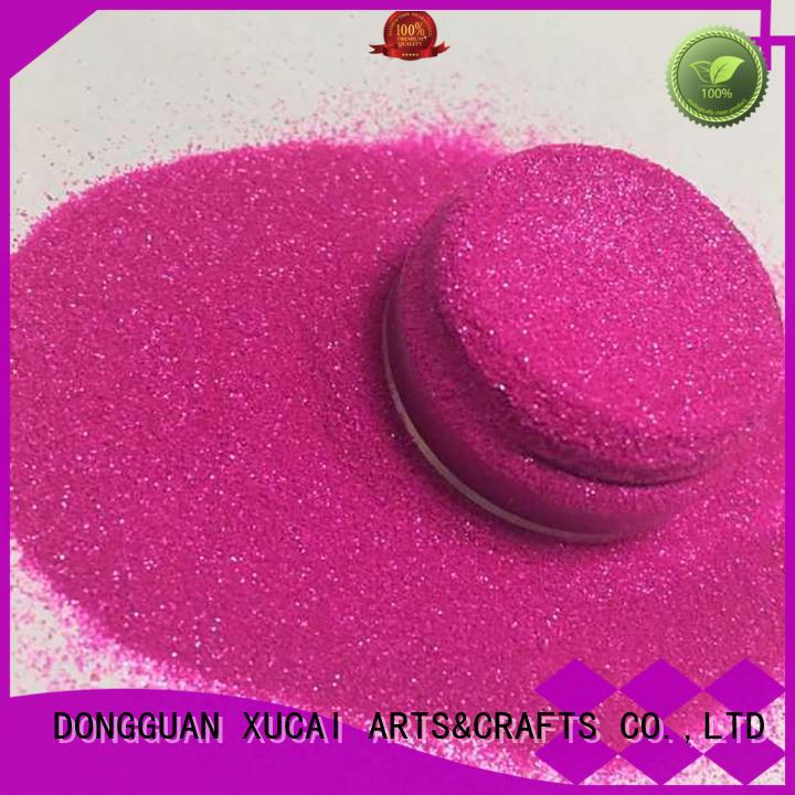 Wholesale holographic cosmetic glitter XUCAI Brand