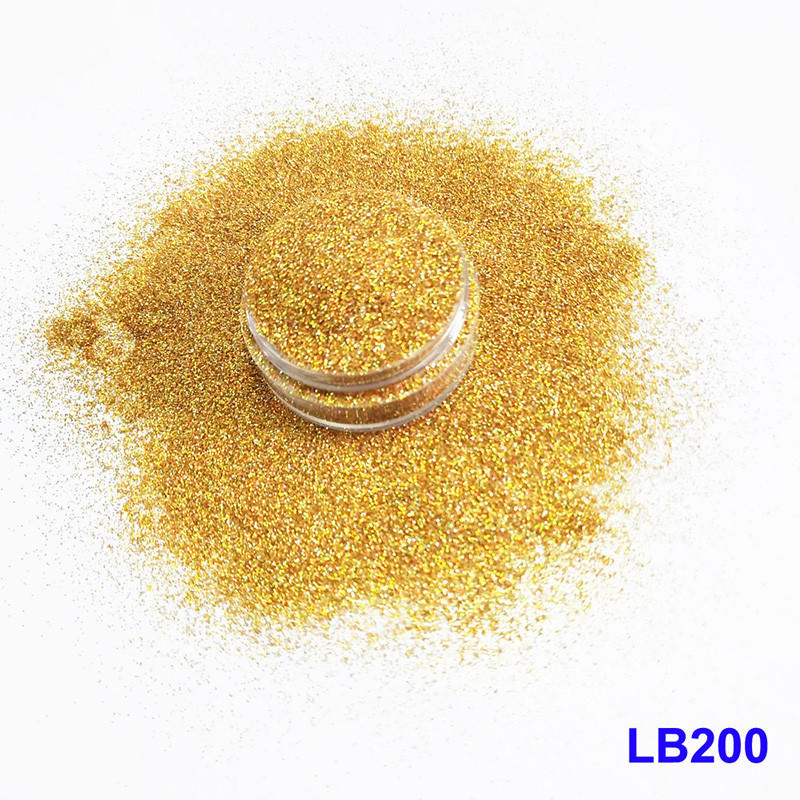 holographic nail powder sparkle rede popular XUCAI Brand
