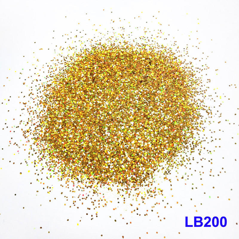 color product heart glitter holographic glitter XUCAI
