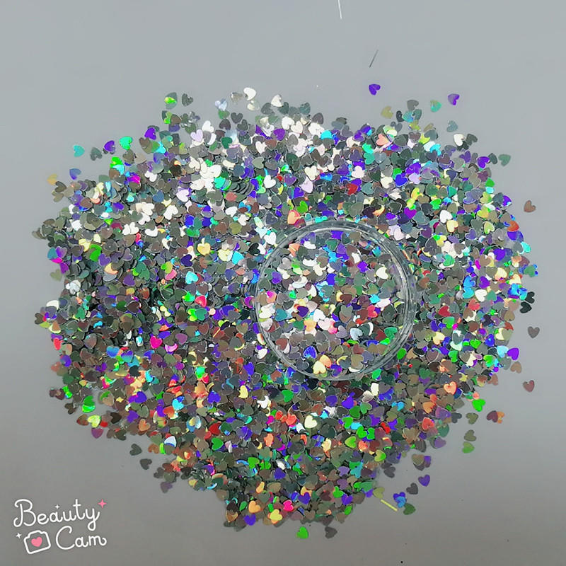 holographic nail powder laser holographic holographic glitter manufacture