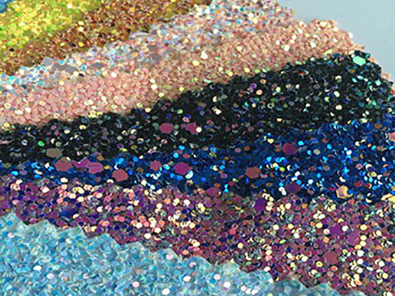 XUCAI-High-quality Bulk Colorful Ployester Cosmetic Glitters B0306-8