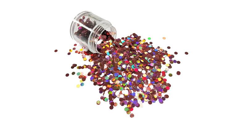 XUCAI-Fashion Popular Special Shape Glitter Powder Like Moon Star Heart And Dot