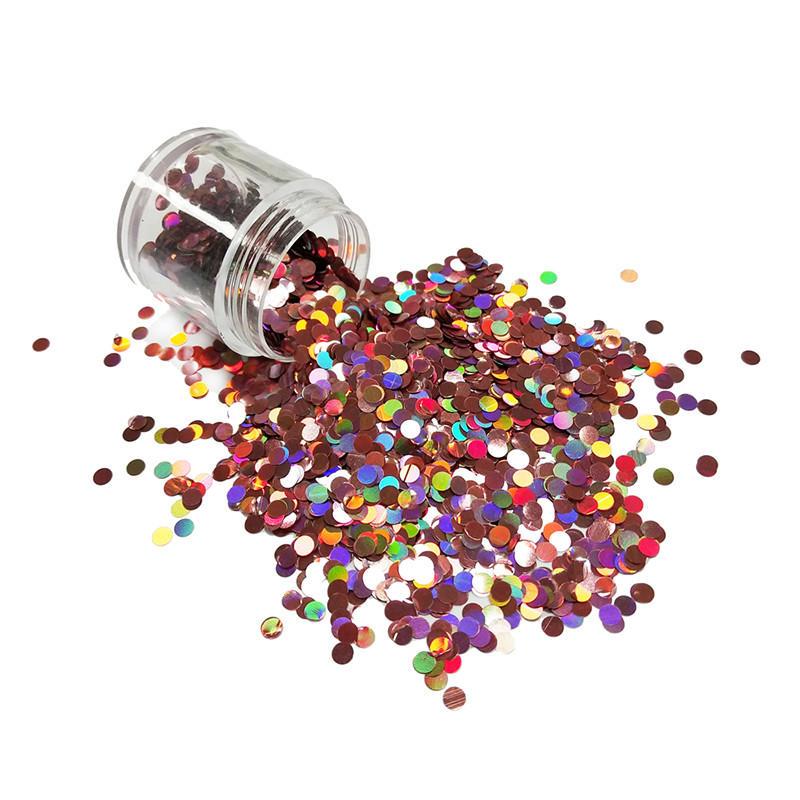 dot product holographic glitter body XUCAI Brand