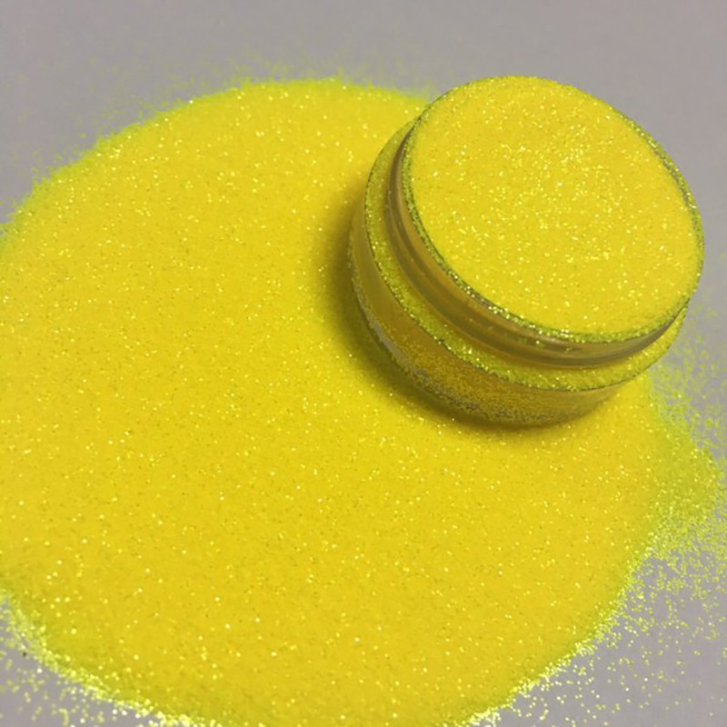 XUCAI-glitter Powder Polyester For Crafts And Arts Pearl Fluorescent-2