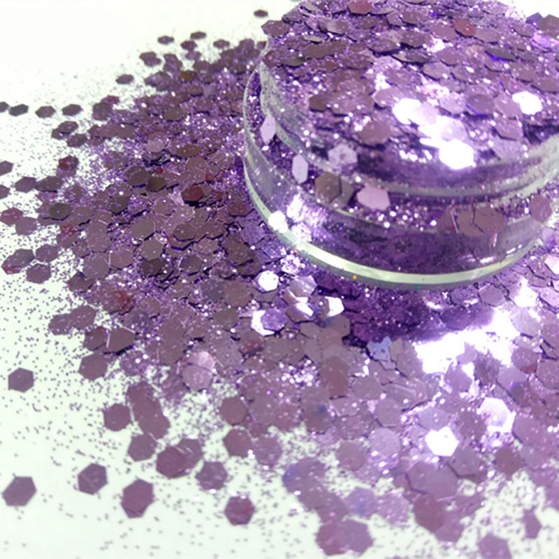 Bulk Polyester Cosmetic Chunky Glitter Powder
