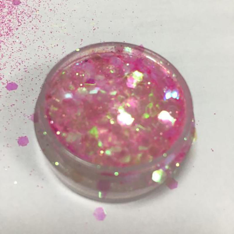 Bulk chunky mixed glitter with different colors for nails CG6