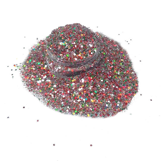 High quality chunky glitter powder for Christmas and craft decoration