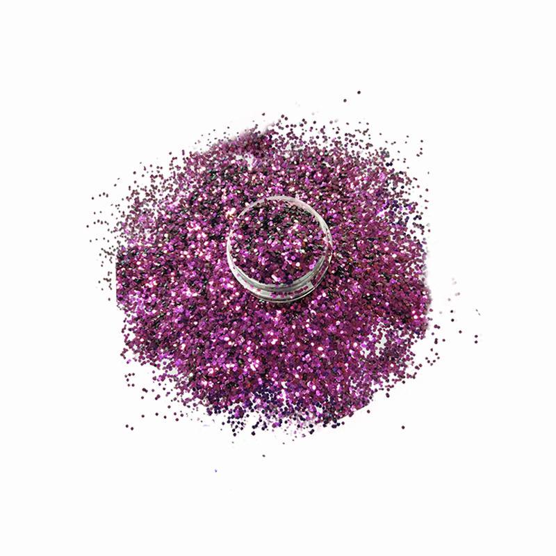Wholesale Bulk Colors Glitter Polyester Material XC004b