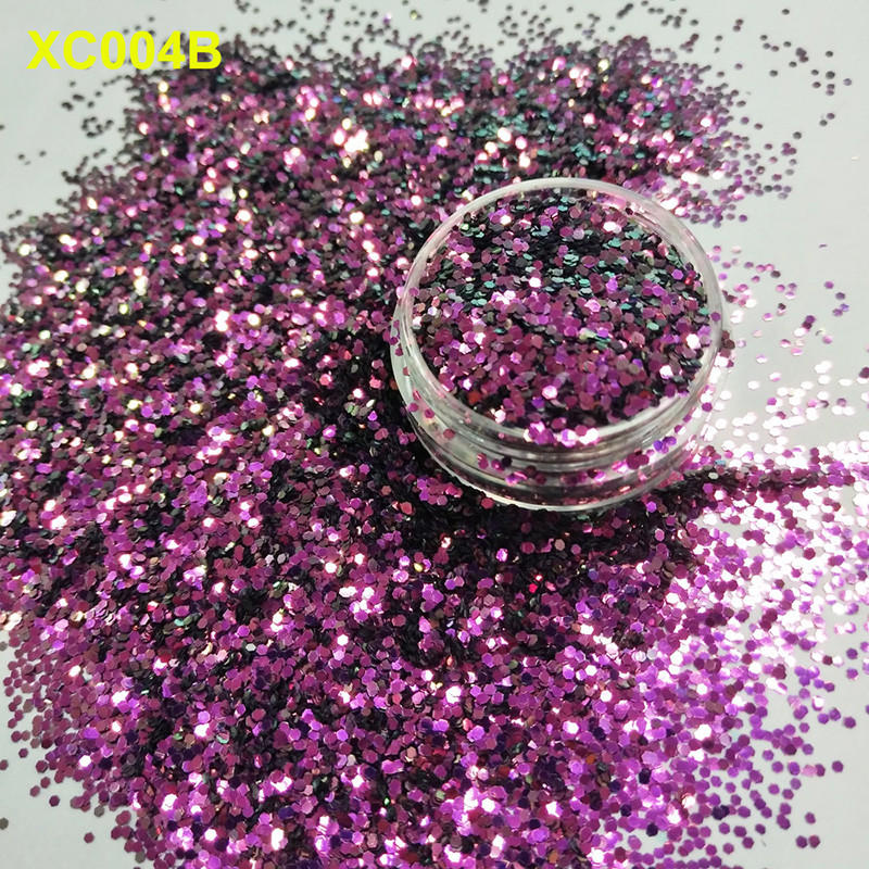 glitter arts and crafts material size XUCAI Brand UV glitter