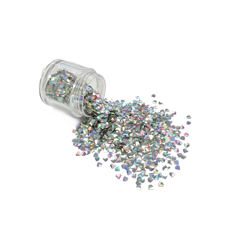 XUCAI-Manufacture Colorful Wholesale3d Diamond Shape Glitter Powder-1