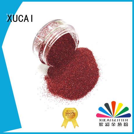 XUCAI Brand dot holographic bulk holographic nail powder