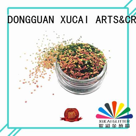 Xucai diamond glow in the dark glitter supplier for craft