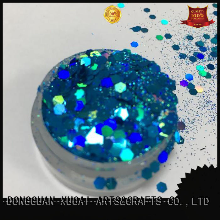 XUCAI cosmetic glitter factory powder for christmas craft decoration