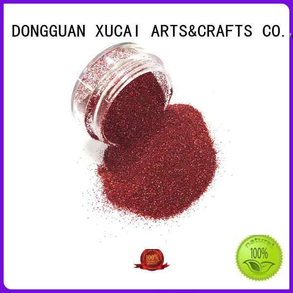 Xucai shining glitter powder for crafts for christmas decoration