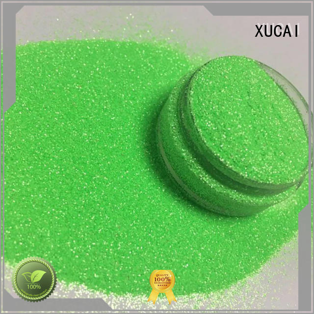 Hot selling cosmetic glitter polyester XUCAI Brand
