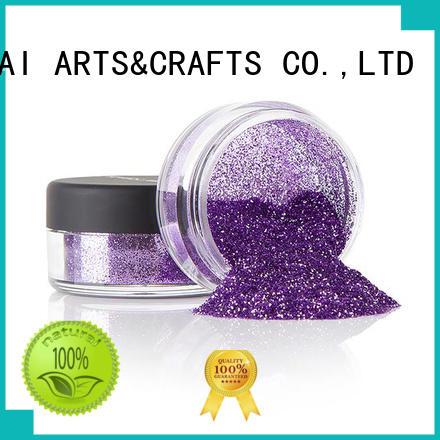 fashion metallic glitter eyeshadow powder manufacturer for glass