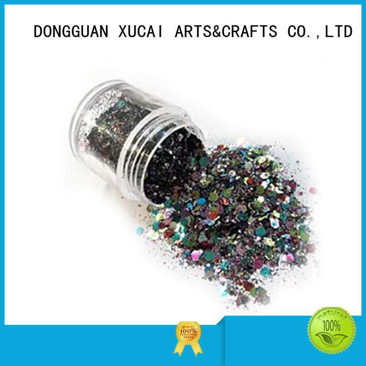 metallic glitters powder decorations polyester Bulk Buy bulk XUCAI