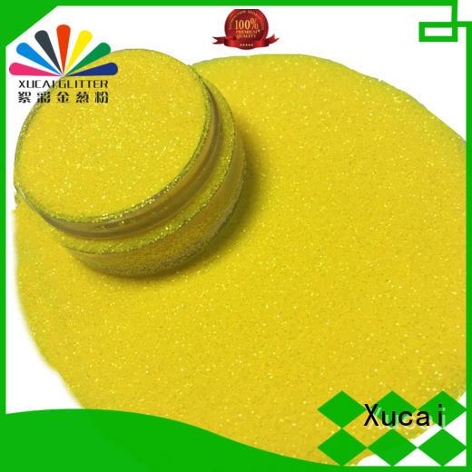Xucai pet neon fluorescent glitter powder for craft