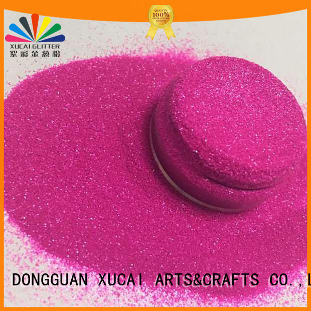 Xucai fluorescent glitter customization for body