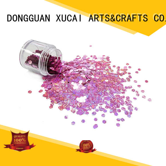 Xucai 1holographic holographic glitter powder manufacturer for christmas decoration