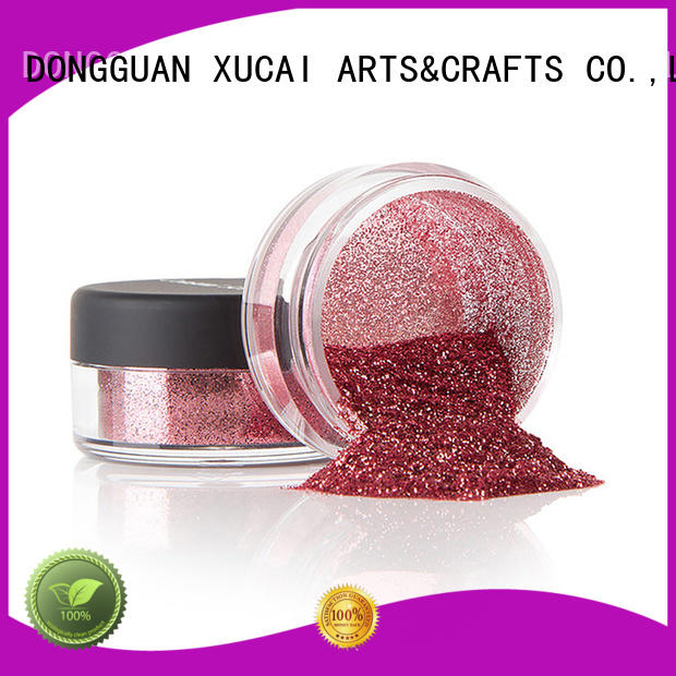 Xucai colorful glitter manufacturer for leather