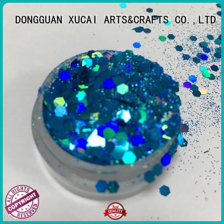 Xucai green craft glitter maker for body