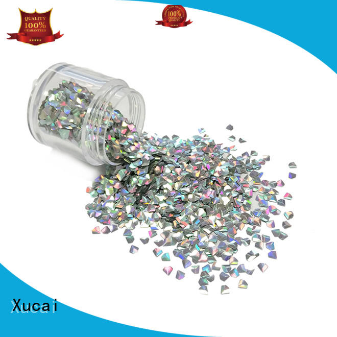 Xucai various size color shifting glitter powder for craft