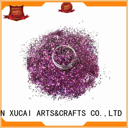 Xucai biodegradable glitter for makeup