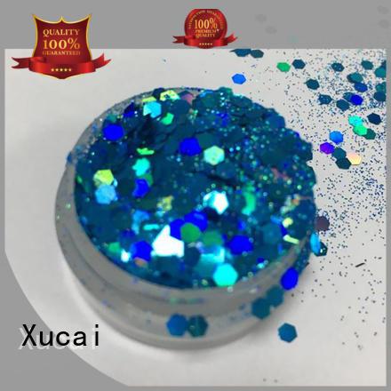 Xucai nontoxic neon glitter powder maker for craft