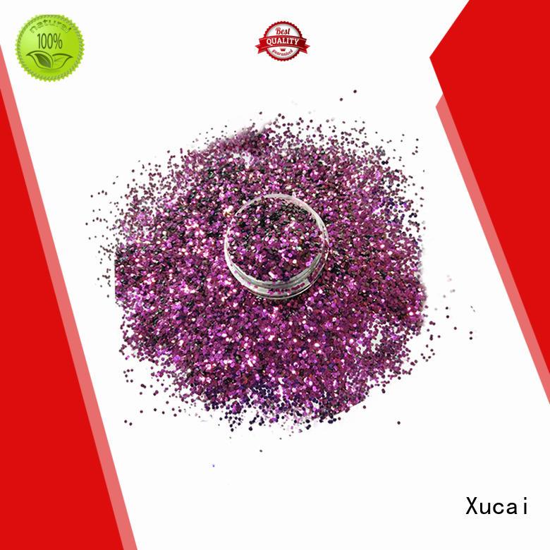 Xucai various shape biodegradable glitter maker for craft
