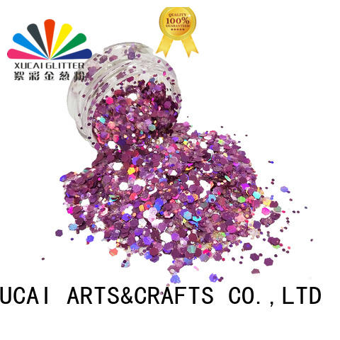chunky body glitter price for face and body decoration Xucai
