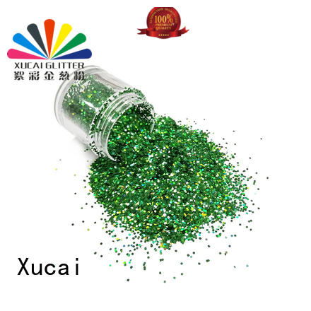 Xucai bulk holographic powder supplier for christmas decoration