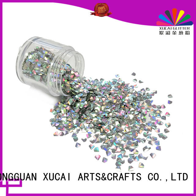 Xucai polyester color shifting glitter supplier for printing