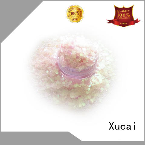 Xucai chunky festival glitter on sale for cosmetic