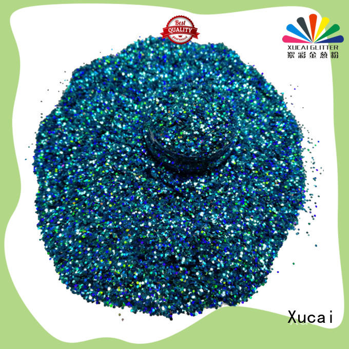 Xucai star holographic glitter laser rede for crafts