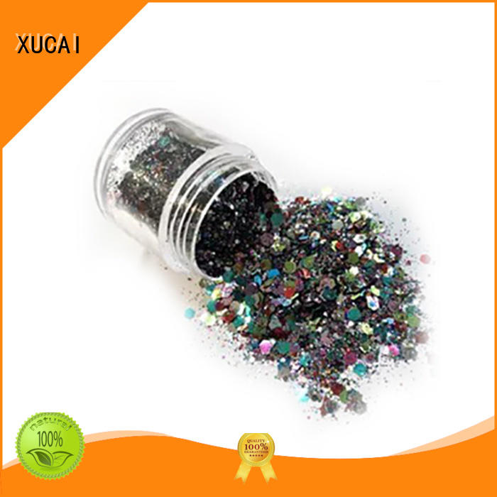 Hot metallic metallic glitters powder ployester XUCAI Brand